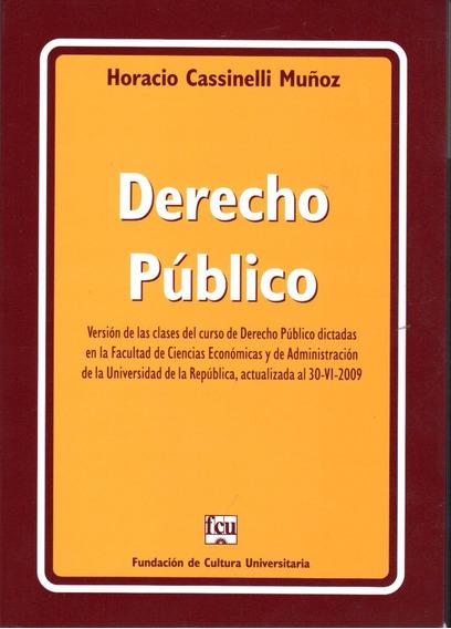 Libro: Derecho Público / Horacio Cassinelli Muñoz