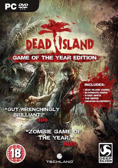 Dead Island Game Of The Year Edition Pc Envio No Mesmo Dia!