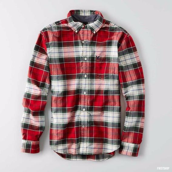 Camisa Shirt American Eagle Hollister M