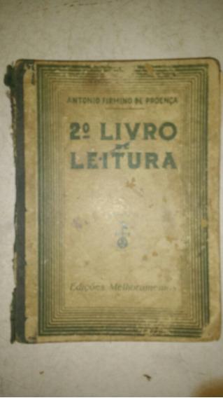 2º Livro Leitura Antonio Firmino Proença Antigo Frete Grátis