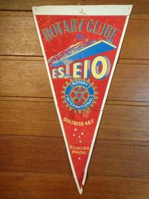 Antiga Flâmula Rotary Esteio - F0011