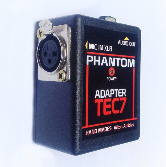 Phantom Power Tec7 Adaptador