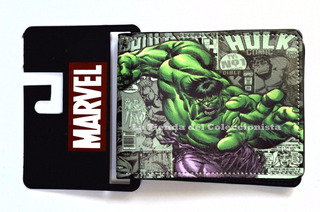 Billetera The Incredible Hulk Comic Cartera Importada