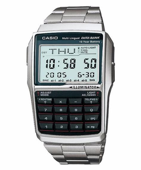 Relógio Casio Databank Dbc-32d-1adf - Garantia Casio Brasil