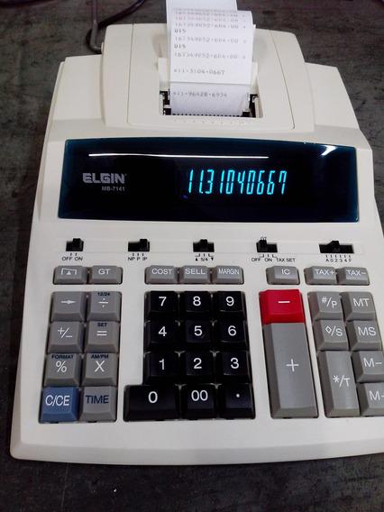 Calculadora Elgin Mb-7141 Revisada C/ 3 Meses De Garantia!!