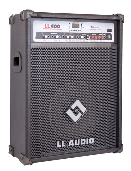 Caixa Amplificada Ll Ll400bt Bluetooth/usb/controle/sd/am/fm