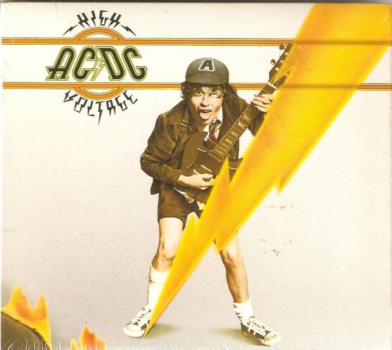 Cd Ac/dc High Voltage - Digipack - Novo Lacrado***