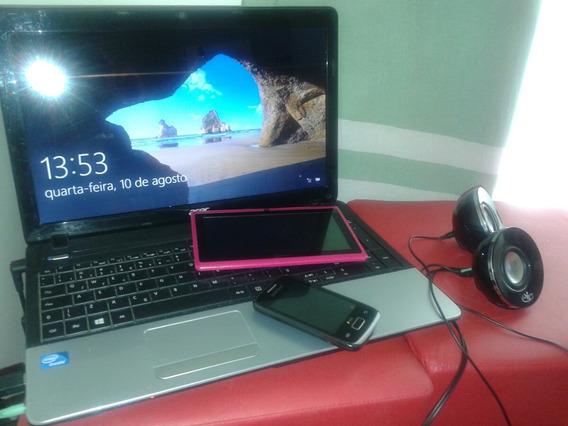 Not Acer Tablet Celular Empessora E As Caixinha Junto