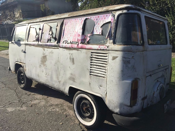 Volkswagen Kombi 1985 T2 Vidriada Vtv Nafta Y Gnc
