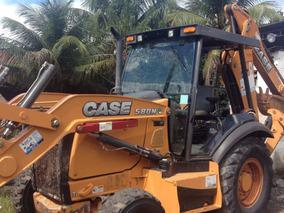 Retro Escavadeira Case 580n 2013