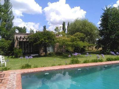 Casa En Campo. Mercedes B (alquiler Y Venta De Chacras)