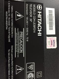 Control Remoto Hitachi Cdh-le39fd14