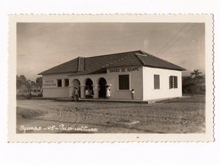 Cartao Postal Fotografico Iguape Posto Puericultura Anos 40