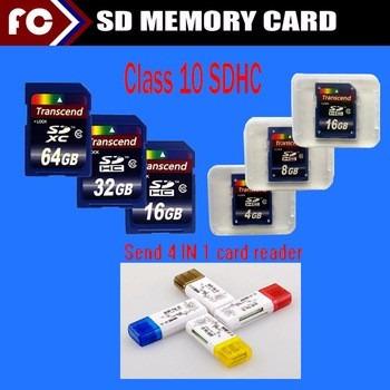 Cartão Sd Class10 + Adaptador Grátis