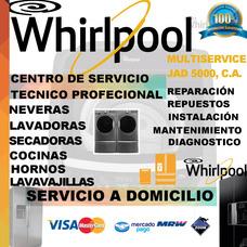 Whirlpool Servicio Tecnico Neveras Lavadoras Secadora Repues