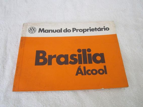Manual Da Brasilia 80/81/82 Alcool - (em Branco)(sem Uso)