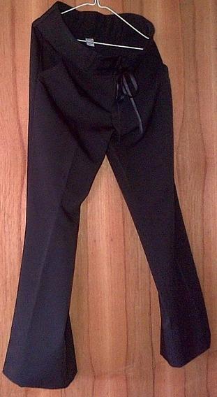 Pantalon De Vestir De Dama Tela Importada Talla L Usado