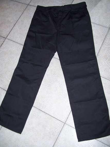 Pantalon De Trabajo. Uniforme. Talle 48. Color Negro