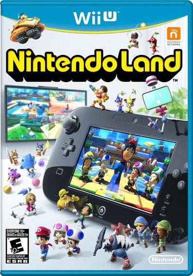 Nintendo Land Wii U - Lacrado / Novo - Imperdível !!!