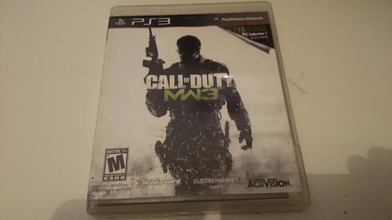 Call Of Duty Mw3 Ps3 Mídia Física Frete Grátis