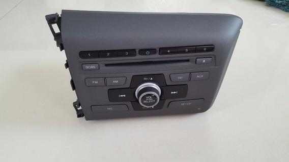 Rádio Am/fm/cd Honda Civic Lxs 2013/2014 - Original