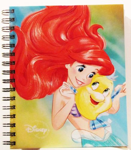 Imagen 1 de 2 de Cuaderno Disney La Sirenita (tamaño Frances) Nuevo