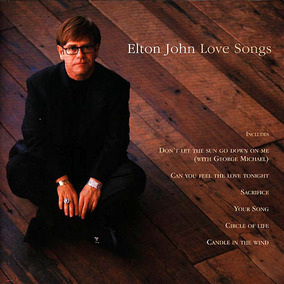 Cd Elton John - Love Songs (original E Lacrado)