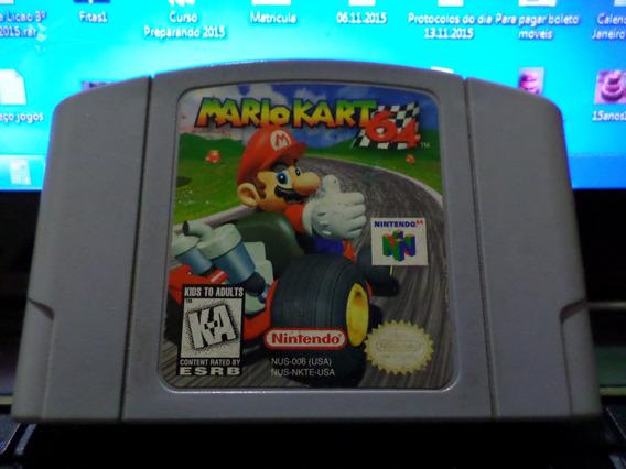 Jogo Original Mario Kart 64 Em Perfeito Estado.