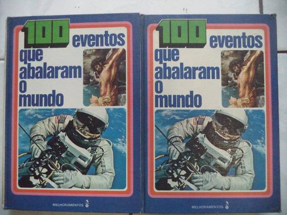 Livros 100 Eventos Que Abalaram O Mundo 2 Volumes