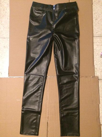 Sexy Pantalon Ajustado Negro Ss