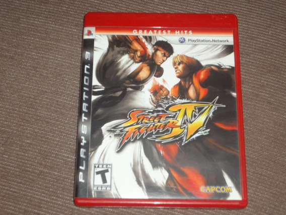 Street Fighter 4 ( Jogo Original Ps3 Mídia Física )