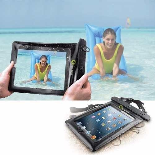 Bolsa Para Tablet 10 Aquática Impermeável Muvit Preta