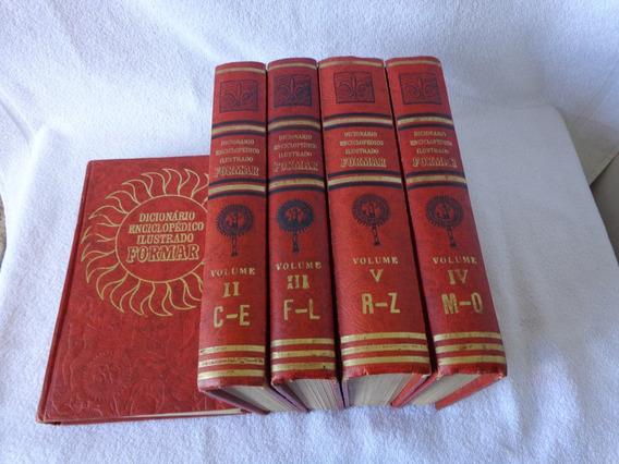 Dicionário Enciclopédico Ilustrado Formar 5 Volumes