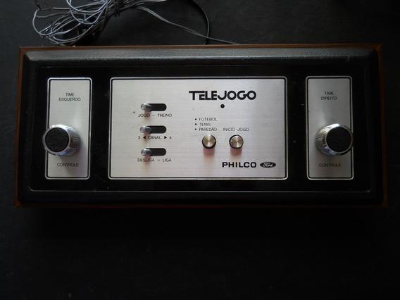Tele Jogo - Philco - Original - Com 3 Jogos