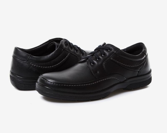 Zapatos Porto Sur Negros Pr-8050612