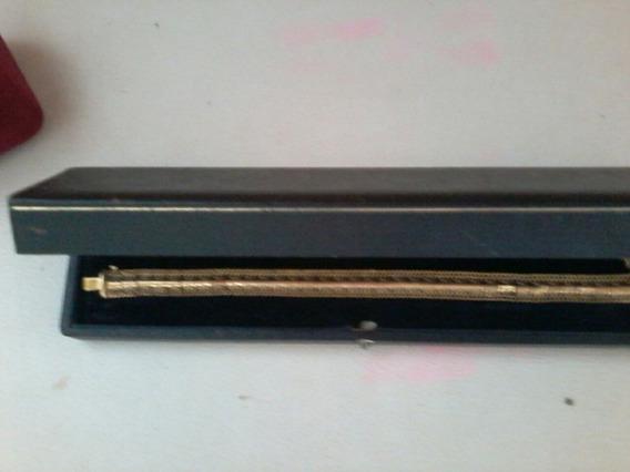 Pulseira Bracelete De Ouro Usada Feminina