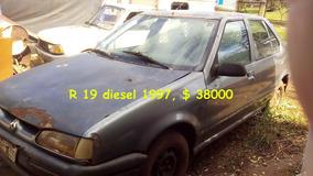 Vendo Renault 19 1.9, Diesel 1997, Escucho Ofertas