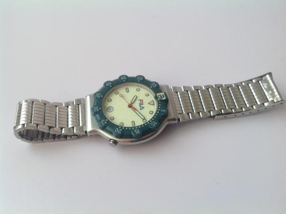 Reloj Fila Cuarzo Carátula Luminicente Mod 1999 ¡velalo!