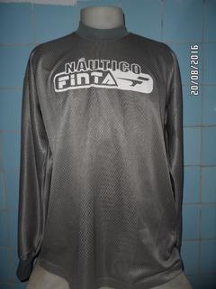 Camisa Náutico De Treino Goleiro Finta Anos 90