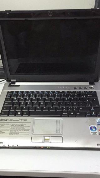 Notebook Microboard Elite. Defeito Na Placa Mãe.