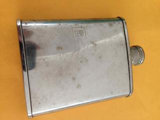 Garrafinha Cantil Em Aço Inox Drambuie