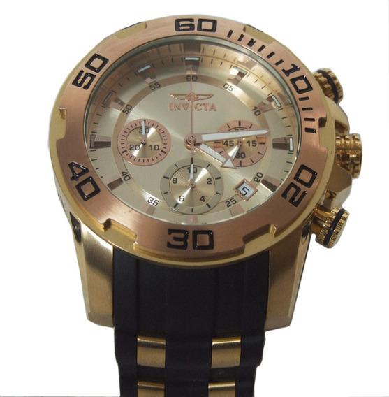 Relógio Masculino Invicta Pro Diver 22342 Pulseira Borracha