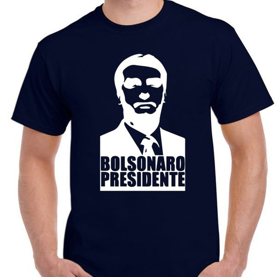 Camiseta Camisa Blusa Bolsonaro Camisa 2018