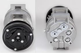 Compressor Maquina Retro Escavadeira Hyundai 24v Novo