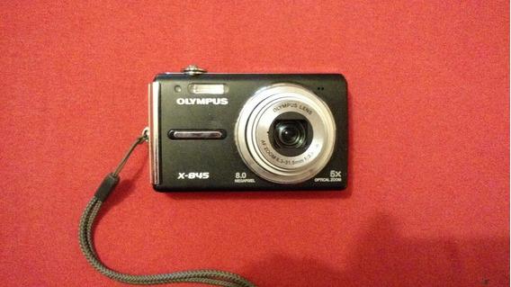 Camera Olympus X-845 Defeito