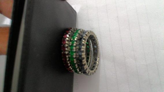 Anéis De Prata Com Pedras Preciosas