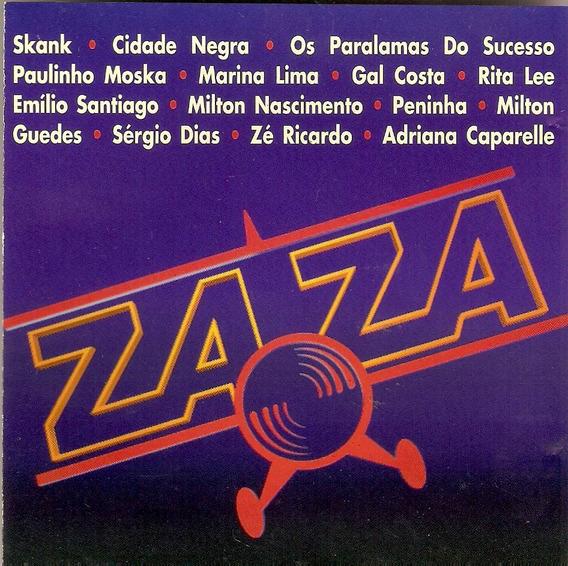 Cd Novela Zaza - Trilha Sonora Nacional - Semi Novo***