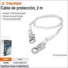 Cable De Protección 2 Metros Truper Cab-5489-20