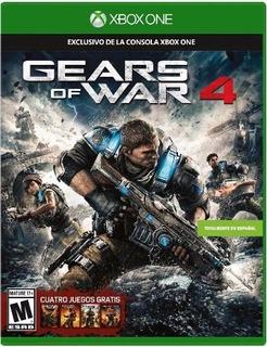 Gears Of War 4 Xbox One Español Juego Fisico Promocion Buen