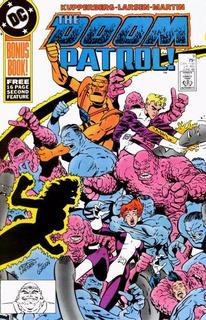 The Doom Patrol Vol 2 #9 (1988), Dc Usa, En Inglés